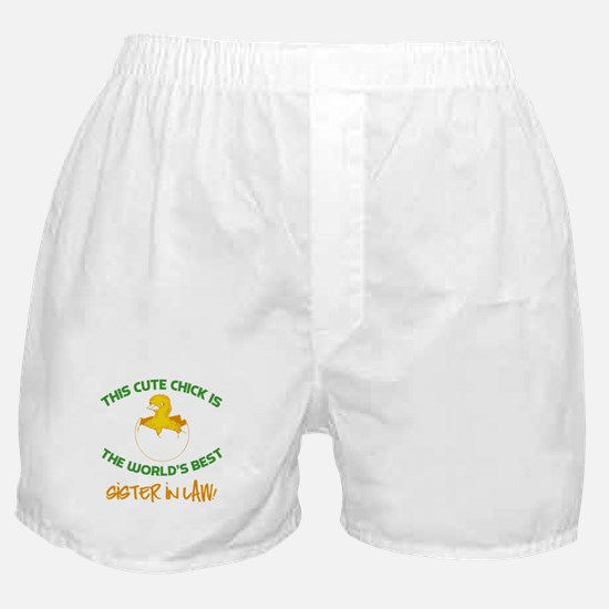 Cute Sister-In-Law Boxer Shorts