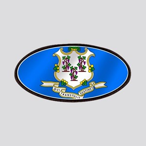 Flag of Connecticut Patches