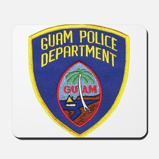 Guam Police Mousepad
