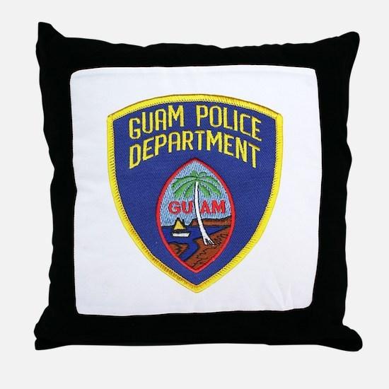 Guam Police Throw Pillow