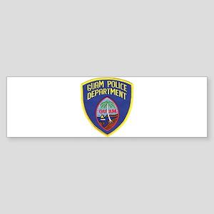 Guam Police Bumper Sticker