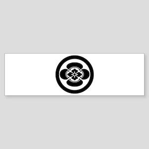 Mokko in circle Sticker (Bumper)