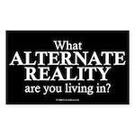 Alternate Reality Rectangle Sticker