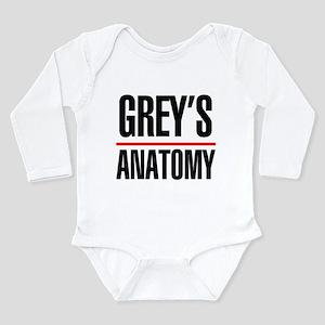 Greys Anatomy Long Sleeve Infant Bodysuit