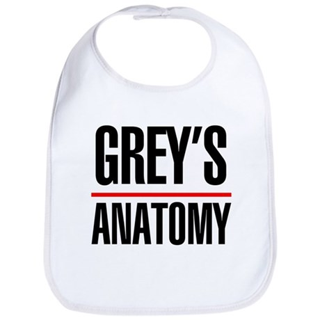 Greys Anatomy Bib
