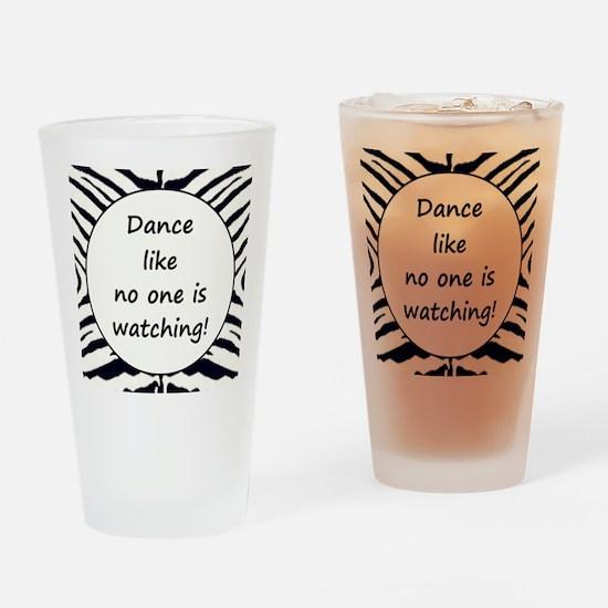 DANCE... Drinking Glass