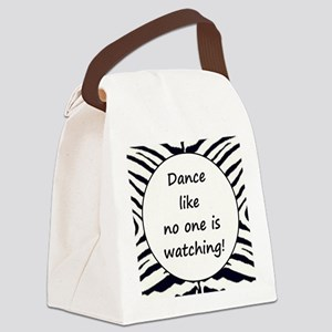 DANCE... Canvas Lunch Bag