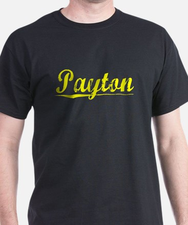 Payton, Yellow T-Shirt