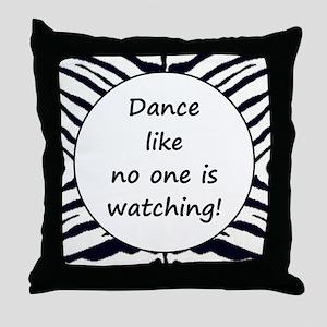 DANCE... Throw Pillow