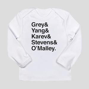 Grey, Yang, Karev, Stevens, Omalley Long Sleeve In