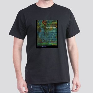 """""""Patience and Mercy"""" Black T-Shirt"""