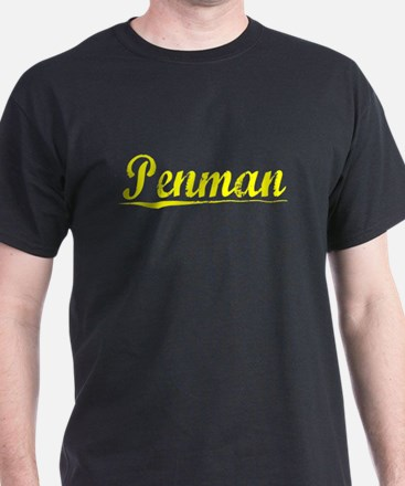 Penman, Yellow T-Shirt