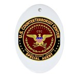 CounterTerrorist Center - CTC Oval Ornament