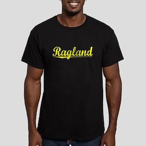 Ragland, Yellow Men's Fitted T-Shirt (dark)