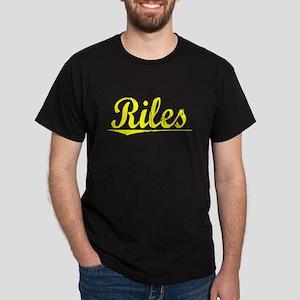 Riles, Yellow Dark T-Shirt