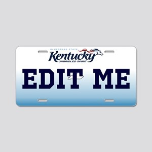 Kentucky - Unbridled spirit license plate replica