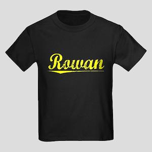 Rowan, Yellow Kids Dark T-Shirt