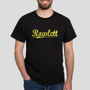 Rowlett, Yellow Dark T-Shirt