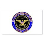 CTC - CounterTerrorist Center Sticker (Rectangular