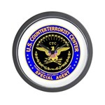 CTC - CounterTerrorist Center Wall Clock
