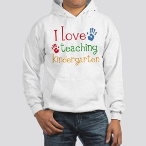 I Love Kindergarten Hooded Sweatshirt