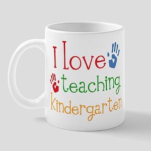 I Love Kindergarten Mug