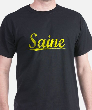 Saine, Yellow T-Shirt