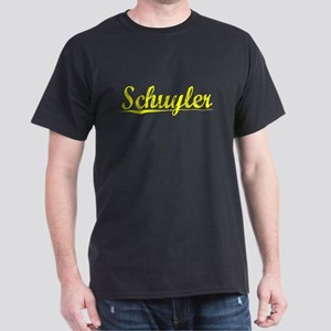 Schuyler, Yellow Dark T-Shirt