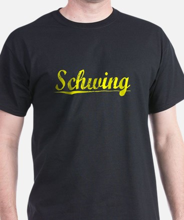 Schwing, Yellow T-Shirt