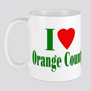 I Love Orange County Mug