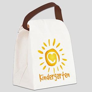 Kindergarten School Sun Canvas Lunch Bag
