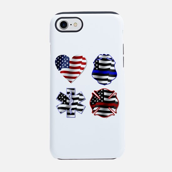 Love First Responders Iphone 7 Tough Case