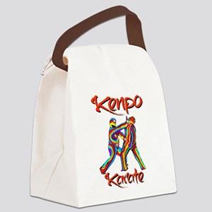 Kenpo Karate Canvas Lunch Bag