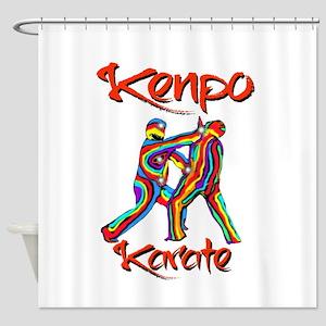 Kenpo Karate Shower Curtain