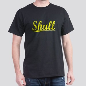 Shull, Yellow Dark T-Shirt