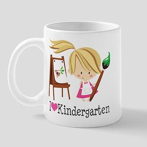 I Heart Kindergarten Mug
