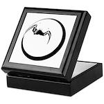 Moon and Bat Keepsake Box