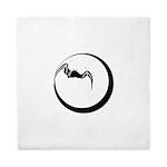 Moon and Bat Queen Duvet
