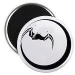 Moon and Bat Magnet