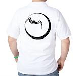 Moon and Bat Golf Shirt