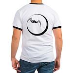 Moon and Bat Ringer T