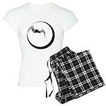 Moon and Bat Women's Light Pajamas