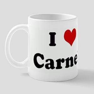 I Love Carnell Mug