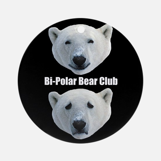 Bi Polar Bear Club - Ornament (Round)