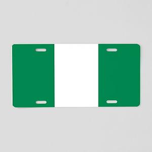 Flag of Nigeria Aluminum License Plate