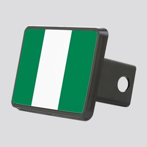 Flag of Nigeria Rectangular Hitch Cover