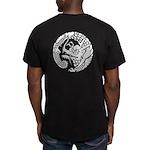 Nichirenshu dragon Men's Fitted T-Shirt (dark)
