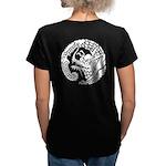 Nichirenshu dragon Women's V-Neck Dark T-Shirt