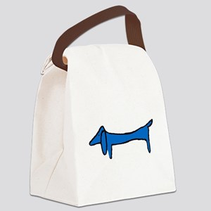 Famous Blue Dog Canvas Lunch Bag