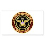 Counter Terrorist CTC Rectangle Sticker